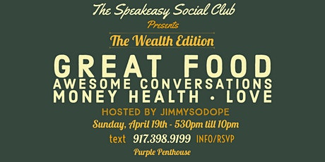 "The Speakeasy Social Club ""Black Wealth Edition"" tickets"