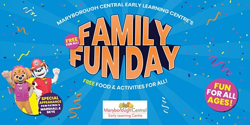 Family Fun Day at Maryborough Central Early Learning Centre