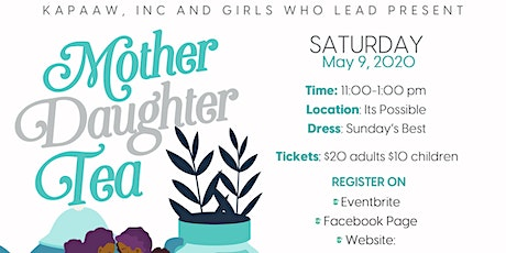 Mother/Daughter Tea tickets