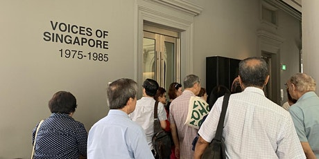 SMS with National Museum of Singapore ~ Developing a dedicated social space for seniors tickets