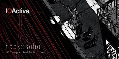 HACK::SOHO - March 2020 tickets