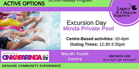 Active Options - Swimming Excursion tickets