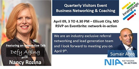 Network in Action-Quarterly Visitors Event-Business Networking & Coaching tickets