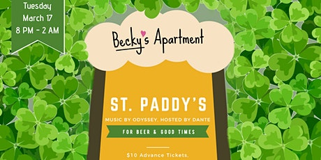 Spend St Patrick's Day with Becky (Guaranteed Entry until 10 PM) tickets