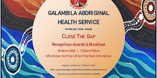Galambila Close The Gap Awards Breakfast