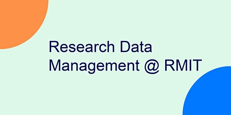 Research Data Management @ RMIT tickets