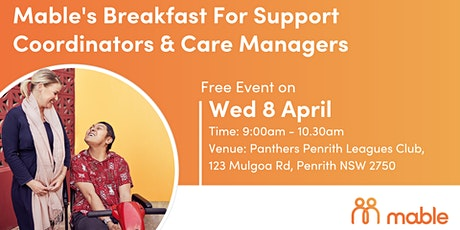 Mable's Breakfast for Support Coordinators & Care Managers - Penrith tickets