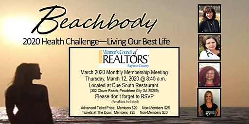 Monthly Member Mtg- Beachbody 2020 -Nutrition, Hea