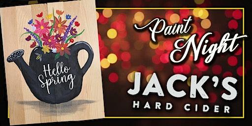 Paint Event Jack's Hard Cider
