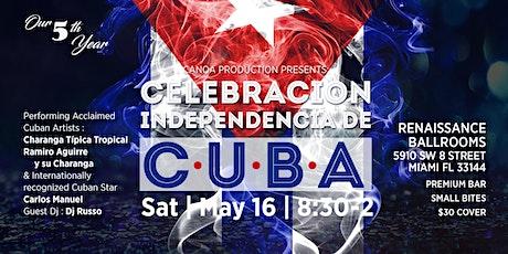 Celebracion Independencia de Cuba tickets