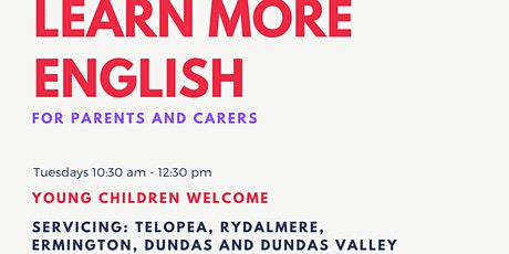 Learn More English for Parents and Carers tickets