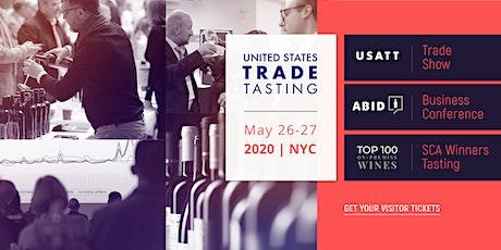 2020 USA Trade Tasting Visitor Registration Portal tickets