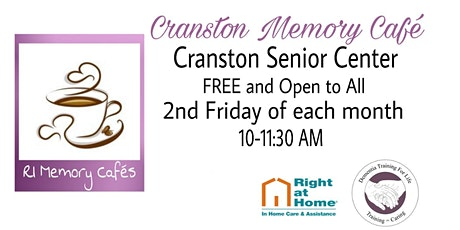 Cranston Memory Cafe tickets