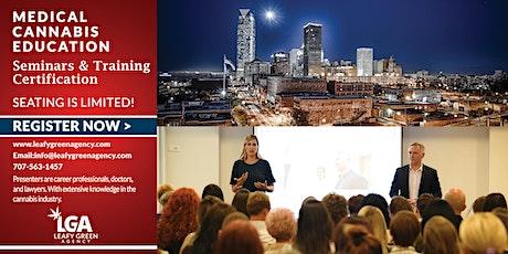 Oklahoma Medical Marijuana Dispensary Training Seminar- OKC (live Webinar) tickets