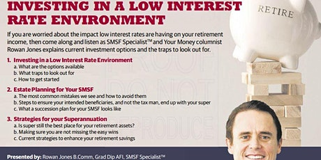 SMSF Master Class (8th March Afternoon Session) tickets