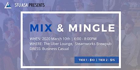 SFU ASA Mix and Mingle 2020 tickets