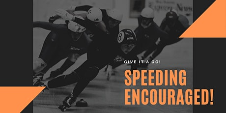 Short Track Speed Skating Have a Go Session tickets