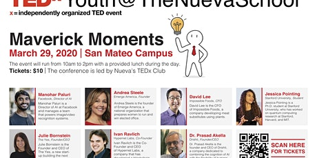 TEDxYouth@TheNuevaSchool tickets
