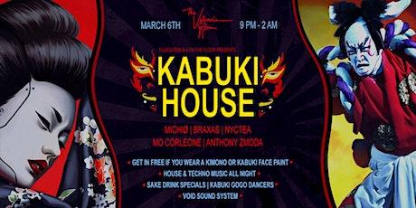 Kabuki House | Michio, Nyctea, Mo Corleone, Braxas, Anthony Zmoda tickets