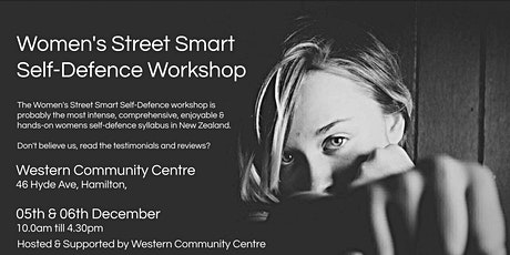 Women's Street Smart Self-Defence Workshop - Hamilton Dec 2020 tickets
