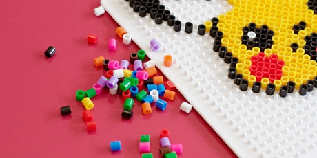 HAMA Bead Pixel Art - School Holidays - CREATE 2020 - Newcastle Library tickets