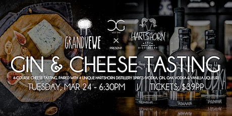 Gin & Cheese Tasting - presented by Hartshorn Distillery tickets