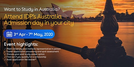 Attend Australia Admission day in Moga tickets