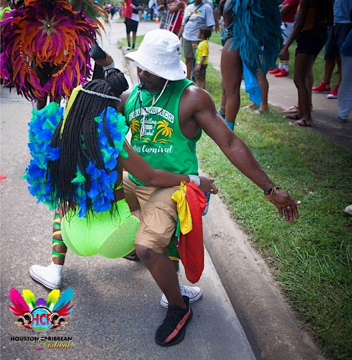 Houston Caribbean Festival Parade Of The Bands image