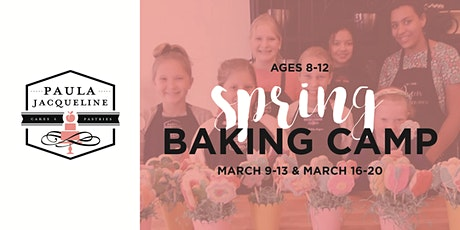 Spring Break Baking Camp Weeks tickets