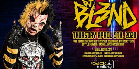 DJ BL3ND - Free Before 10:30PM w/RSVP - The Back Alley tickets
