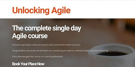 Unlocking Agile: The Complete1-Day Agile Course  tickets