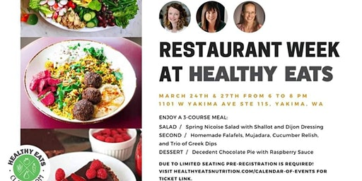 Yakima Restaurant Week: Healthy Eats