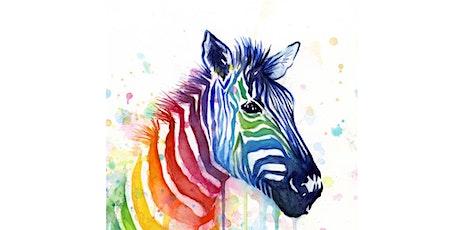 Rainbow Zebra - The Crafty Squire tickets