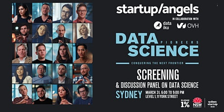 Documentary Screening of Data Science Pioneers by Startup&Angels x Dataiku tickets