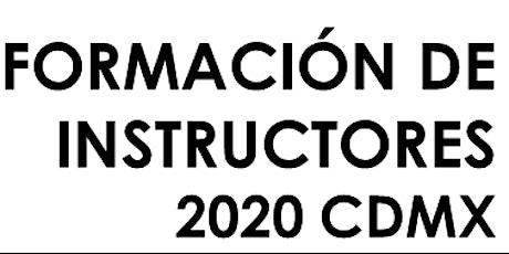 Formación de Instructores CDMX entradas