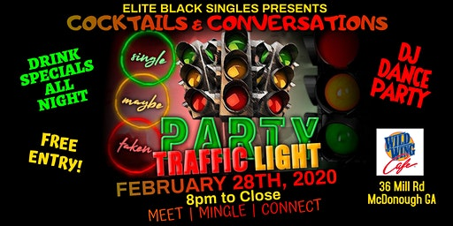 Singles Meet and Mingle Traffic Light Party at Wild Wing Cafe McDonough