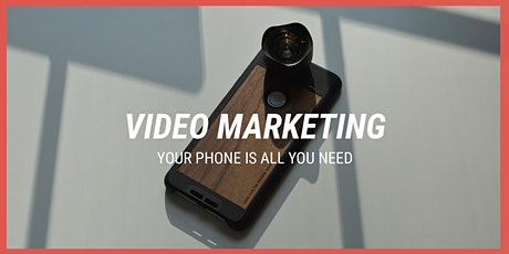 Mobile video workshop // Tell your brand's story with video tickets