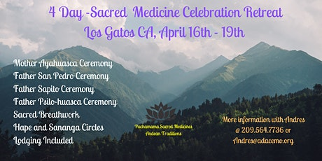 4 Day Sacred Medicine Retreat tickets