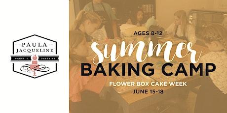 Summer Baking Camp - Flower Box Cake Week tickets
