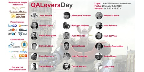 QALovers Day - Abril 2020 entradas