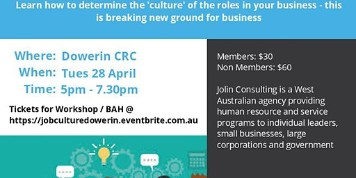 Job Culture and Business After Hours