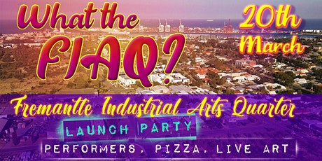 Huge Opening Party - What the FIAQ? tickets
