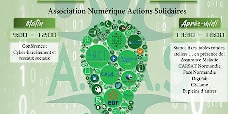 Forum NUMÉRIQUE SOLIDAIRE ANAS billets