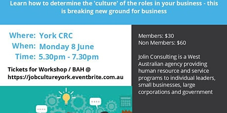 Job Culture and Business After Hours tickets