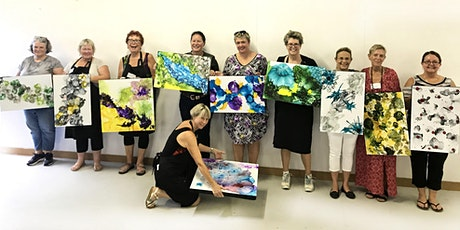 Alcohol Inks/Mixed media masterpiece Workshop tickets