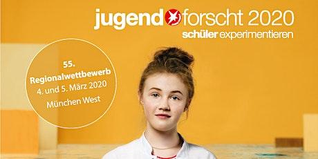 Jugend Forscht 2020 - 55. Regionalwettbewerb München West: Roboter für Kids Tickets