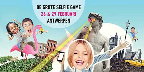 Grote Selfie Game in Antwerpen billets