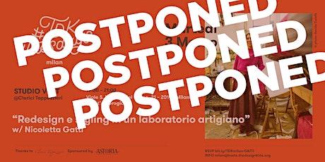 #TDKtuesdays Milan. STUDIO VISIT @Clerici biglietti