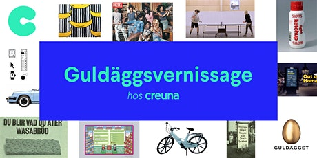 Guldäggsvernissage hos Creuna tickets