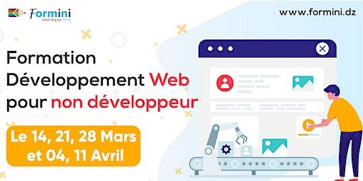 Formation Développement Web pour les non développeur - Mars 2020